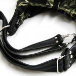 Leather straps for XL convertible t..